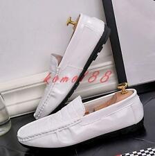Mens Fashoin slip on loafers moccasins comfort driving Casual shoes flat slip on