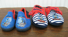 Thomas the Tank Engine Slippers Slip on Size 6 or Velcro Fastening Size 6-7