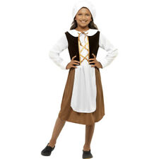 Children Farmer's Wife Costume Medieval Tudor Girl Maid