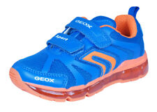 Geox J Android B Boys Sneakers / Casual Sports Shoes - Blue