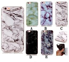 Custom Style Marble Grain Patterned TPU Back Case Skin For Iphone/Huaei/Sony/LG