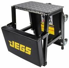 JEGS Performance Products 81156 Creeper Seat and Step Stool Seat Height: 17 Padd