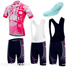Cycling Bike Jersey Shorts Wear Suit Bicycle Sports Clothing Short Sleeve BIB