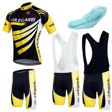 Cycling Bicycle Set Jersey Shorts BIB Bike Short Sleeve Men Sports Clothing Suit