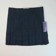 Cherokee Girls School Uniform Scooter Skirt - Xavier Navy Blue Pleated