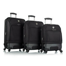 "Leo by Heys - HBX3 Hybrid Spinner Luggage Set 3 Pieces - 30"", 26"" & 21"""