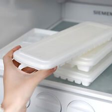 Healthy Ice Maker DIY Freeze Mold With Cover Ice Making Tray With Ice Cubes