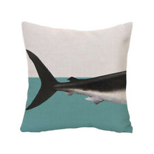 Large Animal Printing Square Throw Cushion Cover Pillow Case Cotton Linen