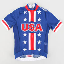 Skins Team USA Summer Aero SS Jersey Road Mountain Bike 2012 Olympic