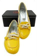 Free Lance Paris exceptionally high quality Womens leather loafers moccasins NEW