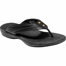KEEN Leather FLIP FLOP Dress CASUAL Thongs SANDALS Shoes WOMEN sz 6 5 5.5 Eur 36