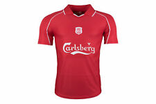 LFC Mens Liverpool 2000 Home Carlsberg S/S Football Shirt Top Sports Training
