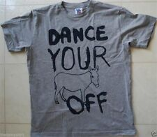 New Authentic Junk Food Dance Your As* Off Mens T-Shirt