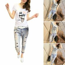 New Fashion Women Ladies Blouse Summer Lovely Short Sleeve Casual Tops T-Shirt