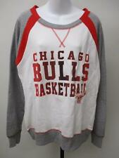 New Chicago Bulls Womens Size M/L White Sweater MSRP $55