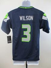 New Russell Wilson #3 Seahawks TODDLER YOUTH Sizes 4T-4-5/6-8-S-L Nike Jersey