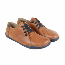 Camper Peu Cami Mens Brown Leather Lace Up Lace Up Sneakers Shoes