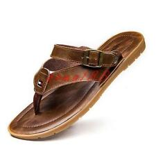 New Summer Mens thongs toe flip flop beach sandals flat slipper shoes soft