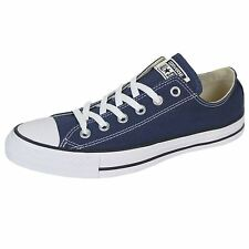 CONVERSE CHUCK TAYLOR ALL STAR OX UNISEX NAVY TRAINERS