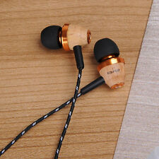 Sport Wired Noise Isolation Headset Super Bass Headphone  In Ear Stereo Music