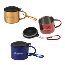 Double Walled Stainless Steel Cup Coffee Mug  Hiking Fishing Camping Outdoor