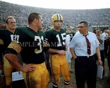 GREEN BAY PACKERS Sideline Photo LOMBARDI Hornung STARR Taylor