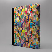People Art Flip Case Cover For Apple iPad - S1321