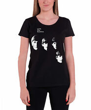 The Beatles With The Beatles Official Womens New Black skinny fit T Shirt