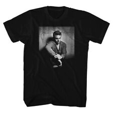 James Dean Hollywood Icon Dark And Brooding Adult T-Shirt Tee
