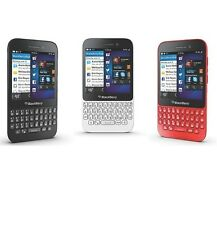 BlackBerry Q5 (Unlocked)Smartphone Cell Phone GSM AT&T T-Mobile Black Red White