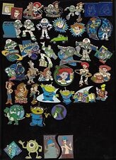 20 Disney Pin Pins Walt Disney World Disneyland CHOOSE: TOY STORY, MONSTER AG