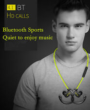 Sport Bluetooth Headphone Stereo Earbud Bass Headset Wireless earplugs Universal