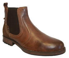 Mens Limited Edition Hand-Crafted Premium Leather Neptune Zip-Up Chelsea Boots