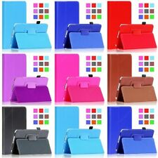 Folio Leather Case Cover Stand For Samsung Galaxy Tab 4 7.0 7 inch Tablet T230 1