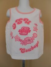 NEW Oklahoma State Cowboys Youth GIRLS Sizes XS-S-M-L-XL Cute Tank Top T-Shirt