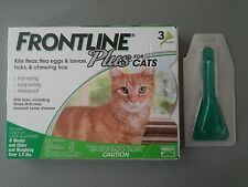 4 MONTHS MERIAL FRONTLINE PLUS for CATS - EPA Approved - Brand New