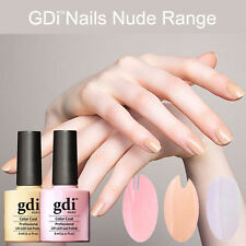 2017 ALL NEW GDI NUDE Range soak-off gel NAIL POLISH- UK SELLER FREE SHIPPING 5