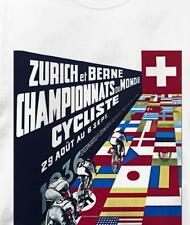 Bicycle Zurich 1936 Cycling T Shirt All Sizes & Colors