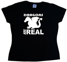 Dragons Are Real Ladies T-Shirt