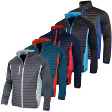 Sunderland Of Scotland Mens Ontario Windproof Quilted Padded Golf Jacket