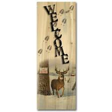 WGI Gallery 'No Hunting' Indoor/Outdoor Wood Welcome Sign