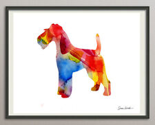 Wire Wirehaired Fox Terrier Dog Dog All Sizes - Print Art Print Poster