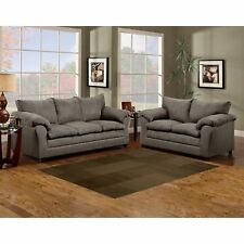 SOFA TRENDZ Microfiber 2-piece Sofa and Loveseat Set