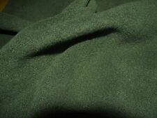QUALITY Anti Pil Polar Fleece Fabric Material - BOTTLE GREEN