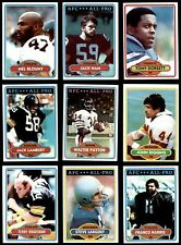 1980 Topps Football Complete Set (In Binder) NM/MT G3233