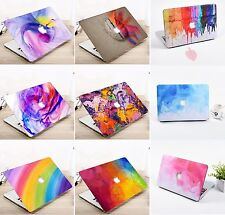 Rainbow Color Hard Case Shell Keyboard Cover For Macbook Pro 13/15 Air 11/13""