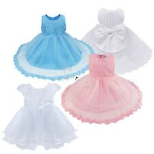 Baby Infant Flower Girls Dress Formal Party Christening Pageant Fancy Costume