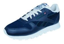 Reebok Classic Leather Ivy League Womens Trainers / Retro Sports Shoes - Blue