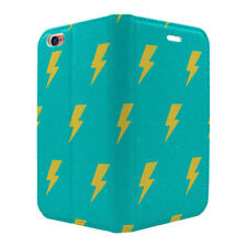 Retro Lightning Pattern Full Flip Case Cover For Mobile Phone - S2290