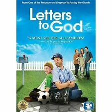 Letters to God (DVD, 2010) Strong Faith Courage Daily Battle with Cancer NEW